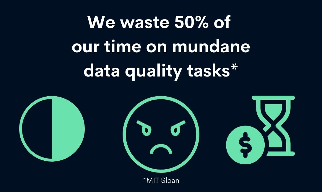 the cost of time wasted on bad data