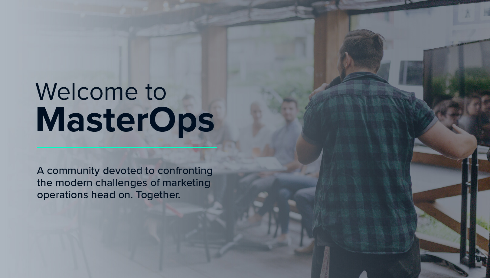 Announcing the New MasterOps Community