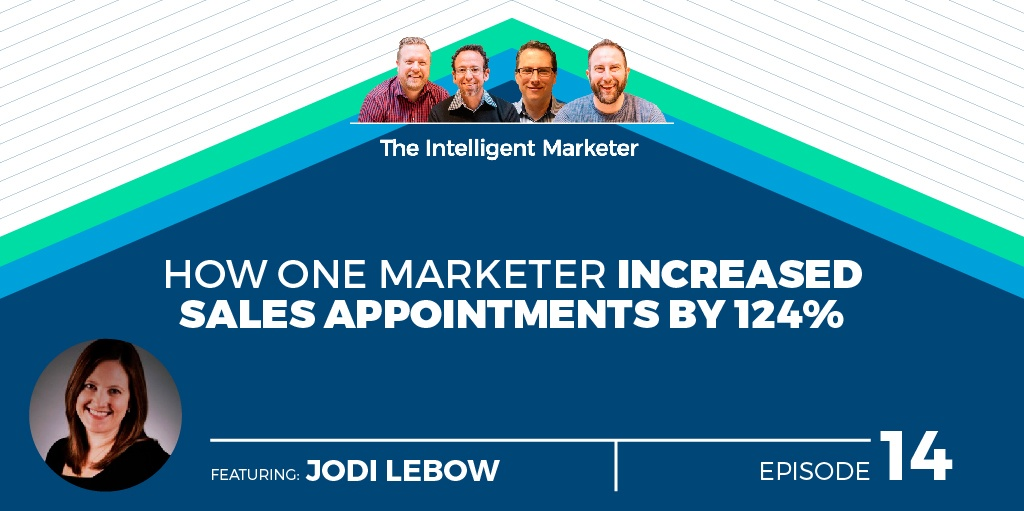 Intelligent Marketer Podcast Episode 14: How One Marketer Increased Sales Appointments by 124%