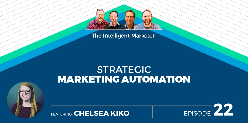 Intelligent Marketer Podcast Episode 22: Strategic Marketing Automation w/ Chelsea Kiko