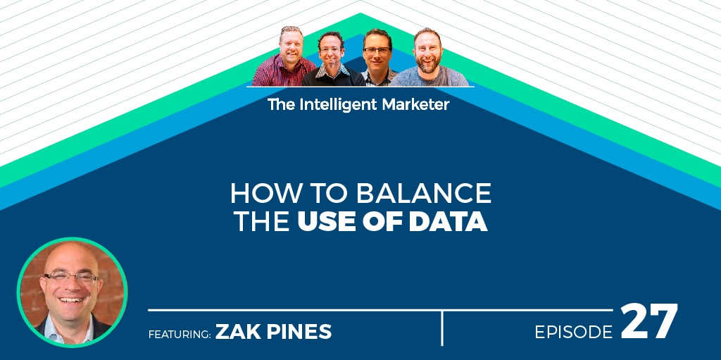 How to Balance The Use of Data with Zak Pines