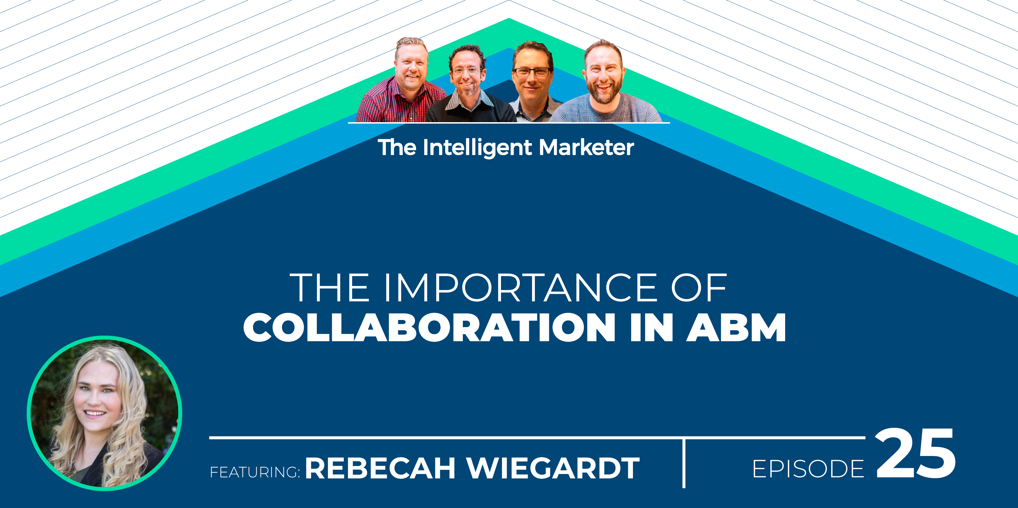 Intelligent Marketer Podcast Episode 25: The Importance of Collaboration in ABM with Rebecah Wiegardt