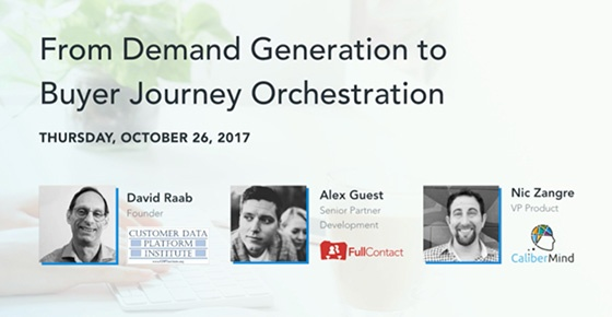 Orchestrating Demand with a Customer Data Platform